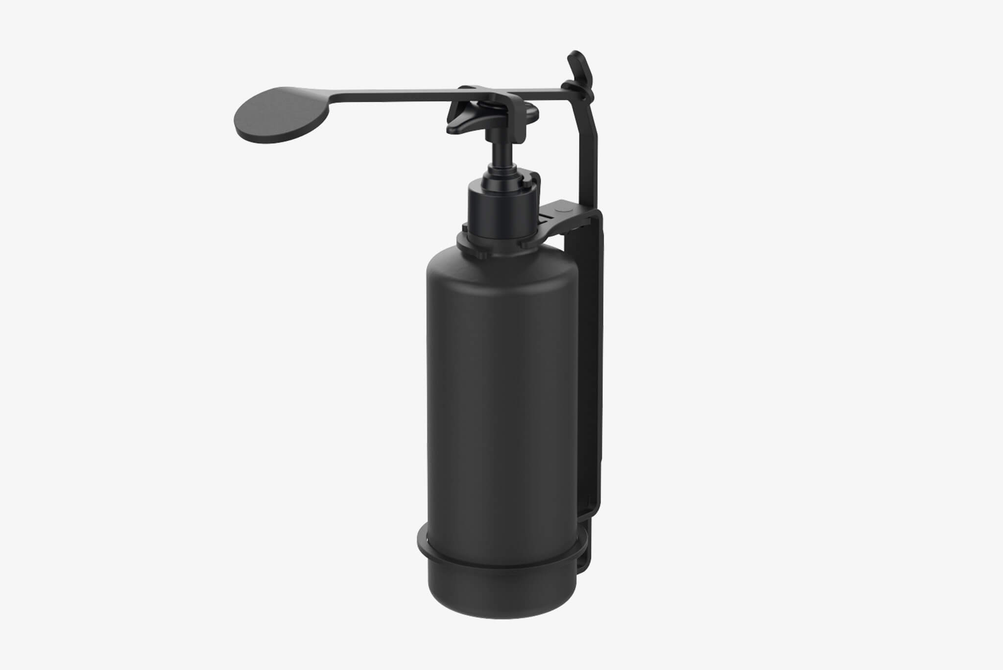 Bottle Holder Tamper Proof W/ Elbow Dispenser (ID.1800)
