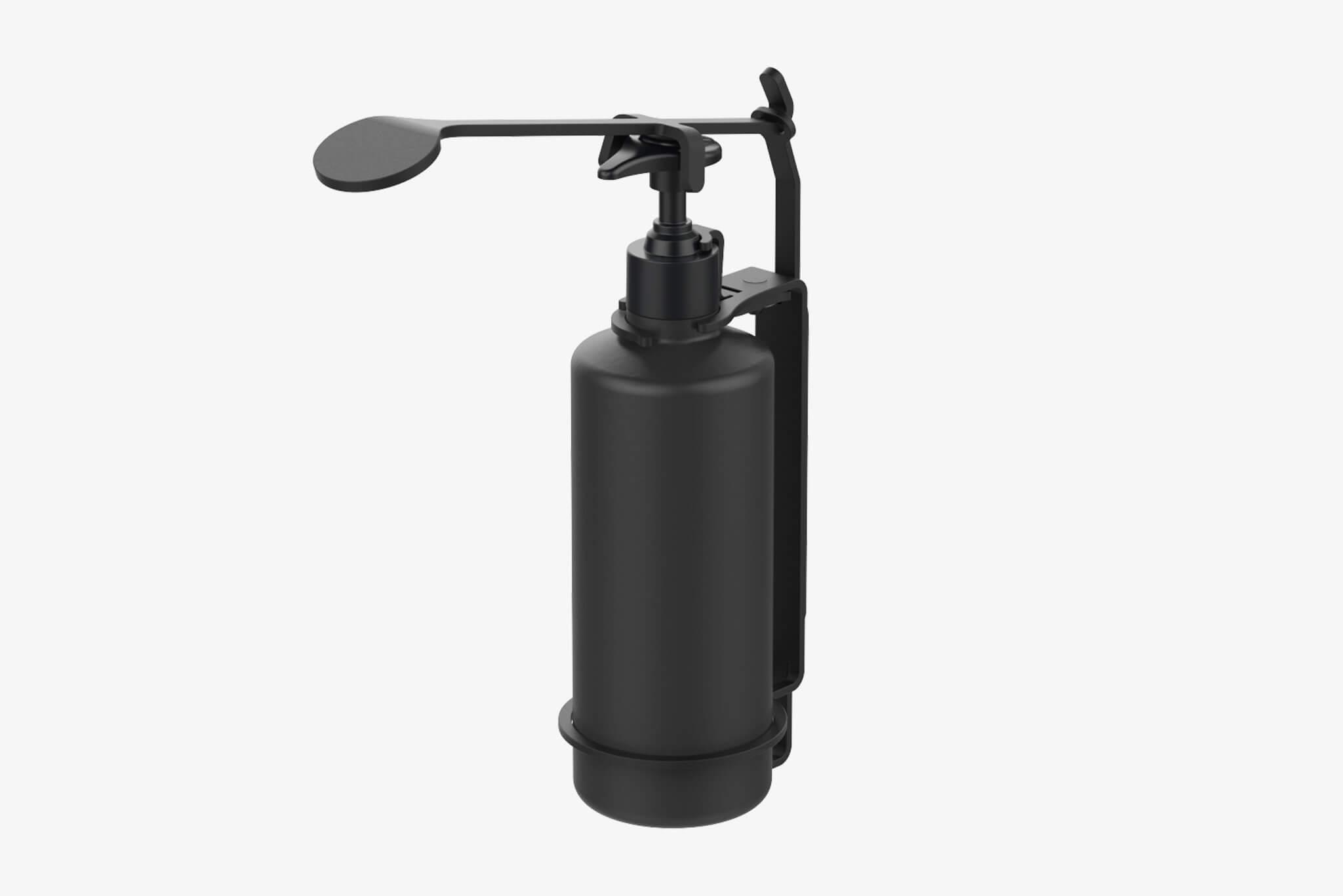 Bottle Holder Tamper Proof W/ Elbow Dispenser (ID.1800)